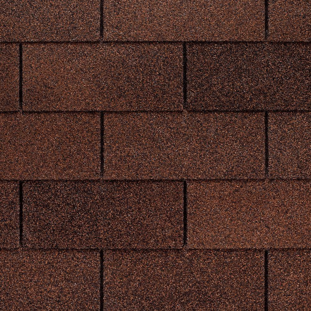 GAF Marquis WeatherMax Autumn Brown 3-Tab Shingles (33.3 sq. ft. per Bundle)
