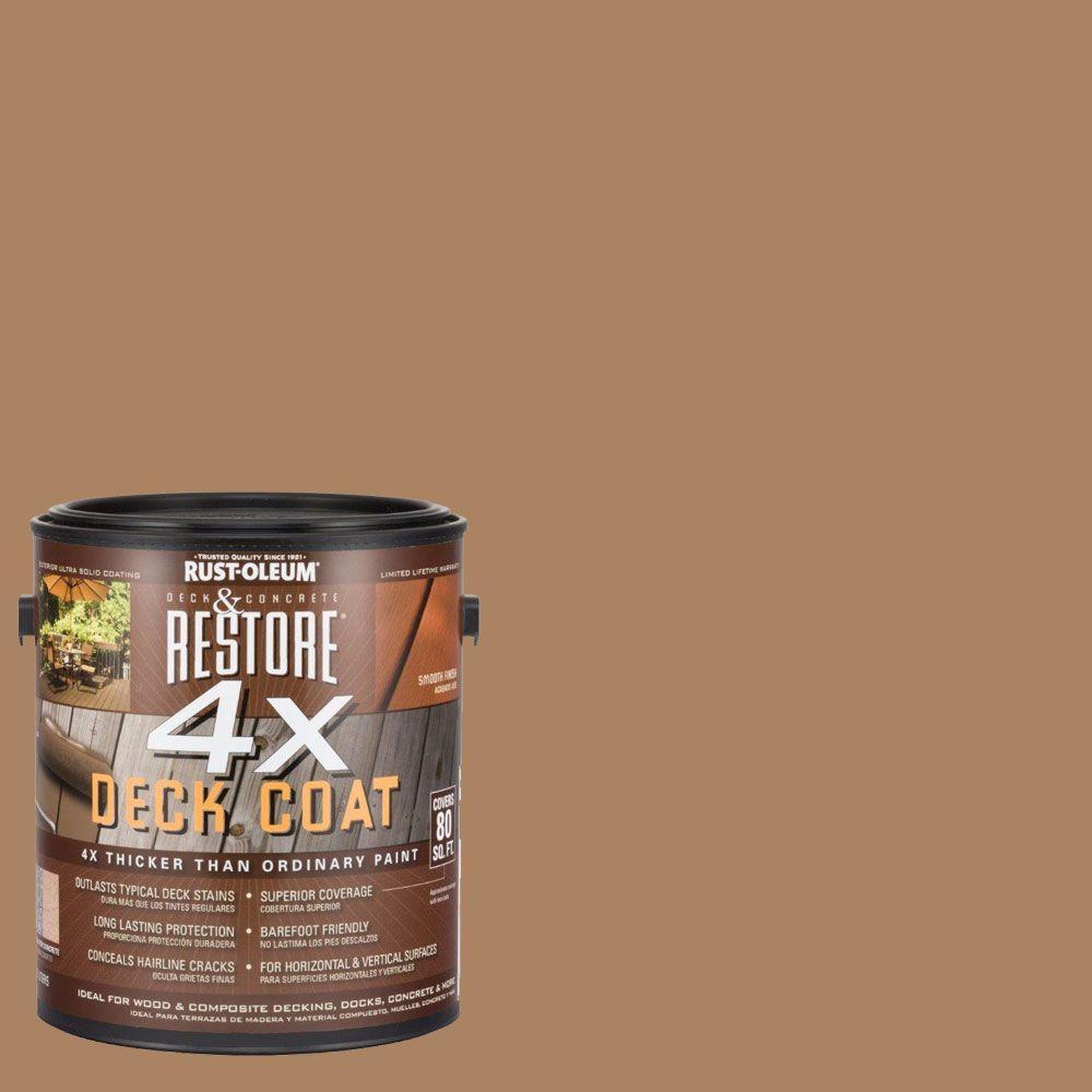 Rust-Oleum Restore 1 gal. 4X Dune Deck Coat