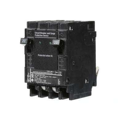 20 Amp 6.5 in. Whole House Surge Protected Circuit Breaker