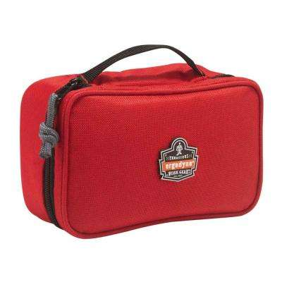 Arsenal 2-Compartment Small Parts Organizer, Red