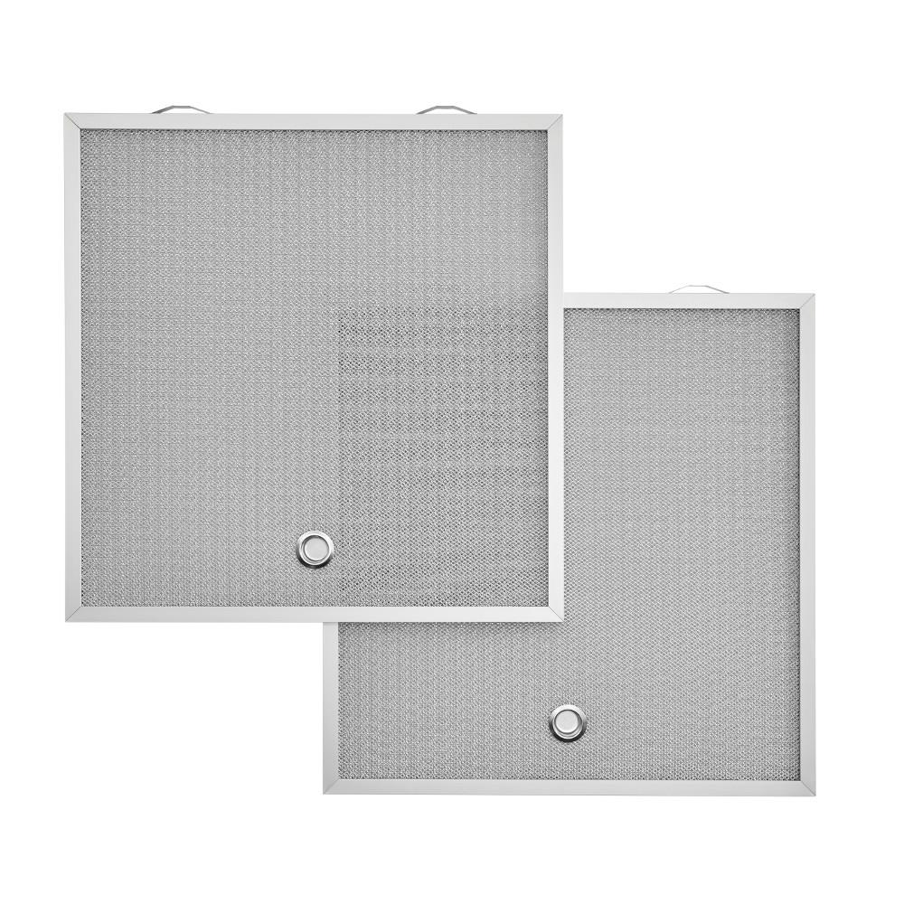 Broan Replacement Micro Mesh Aluminum Grease Filters (D2) for 36 in. AHDA1 and AVDF1 Range Hoods (2-Pack)