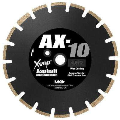 14 in. Segmented Wet Cutting Diamond Saw Blade for Asphalt