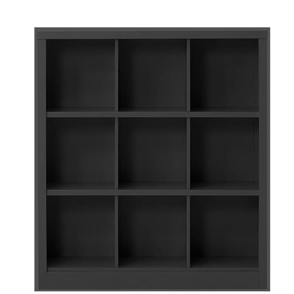 Lachlan 40.5 in. x 46 in Black 9-Cube Storage Organizer
