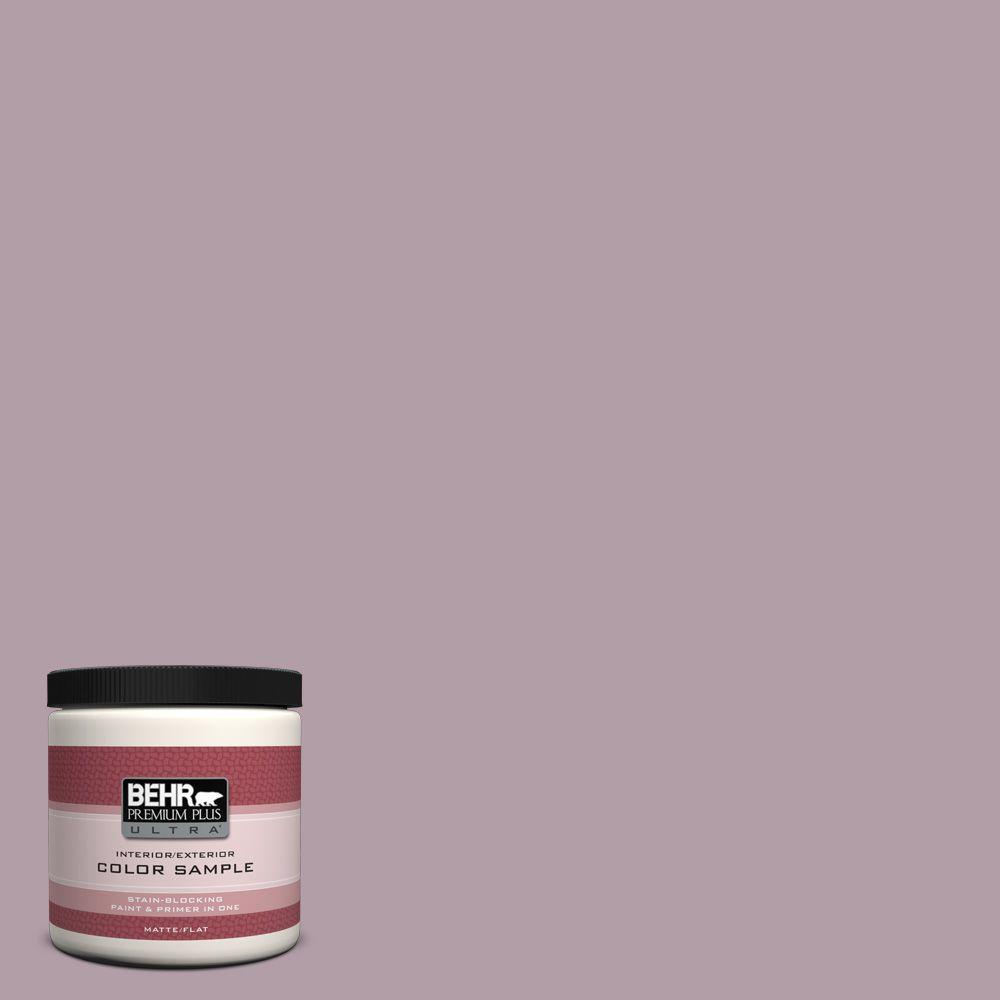 8 oz. #PMD-34 Wild Lilac Interior/Exterior Paint Sample