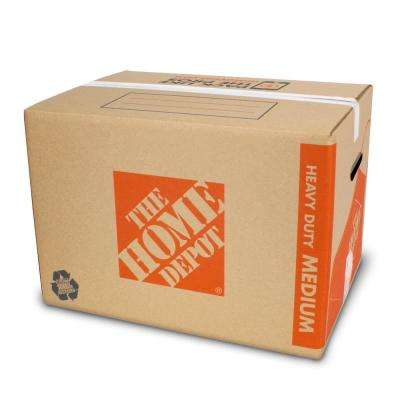 22 in. L x 16 in. W x 15 in. D Heavy-Duty Medium Moving Box with Handles (25-Pack)