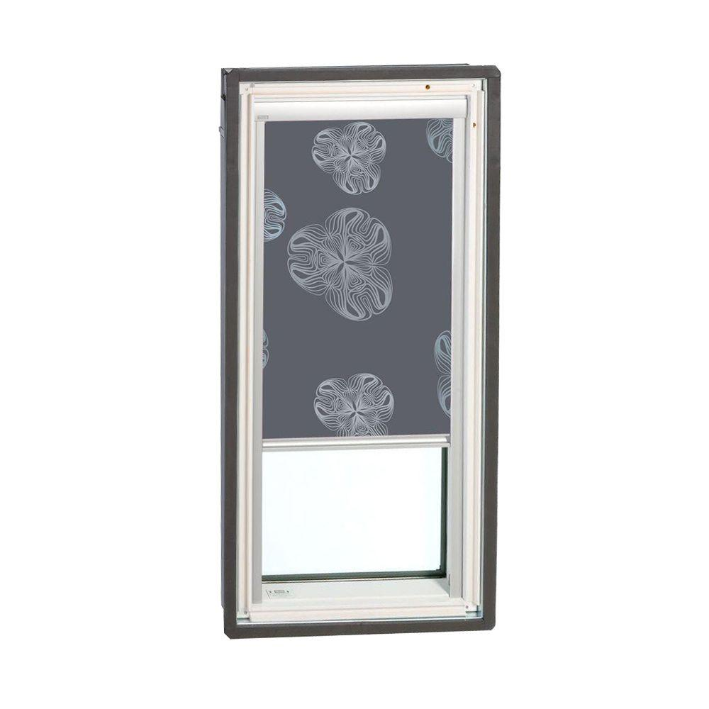 VELUX Nature Metallic Gray Manually Operated Blackout Skylight Blinds for FS C08 Models