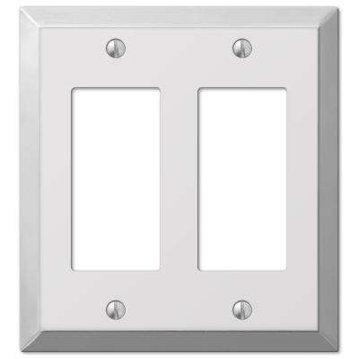 Steel 2 Decora Wall Plate - Chrome