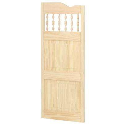 Royal Orleans Spindle-Top Wood Cafe Door