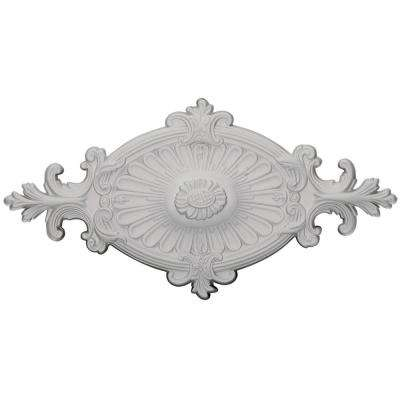 23-1/2 in. W x 12-1/4 in. H x 1-1/2 in. P Quentin Ceiling Medallion