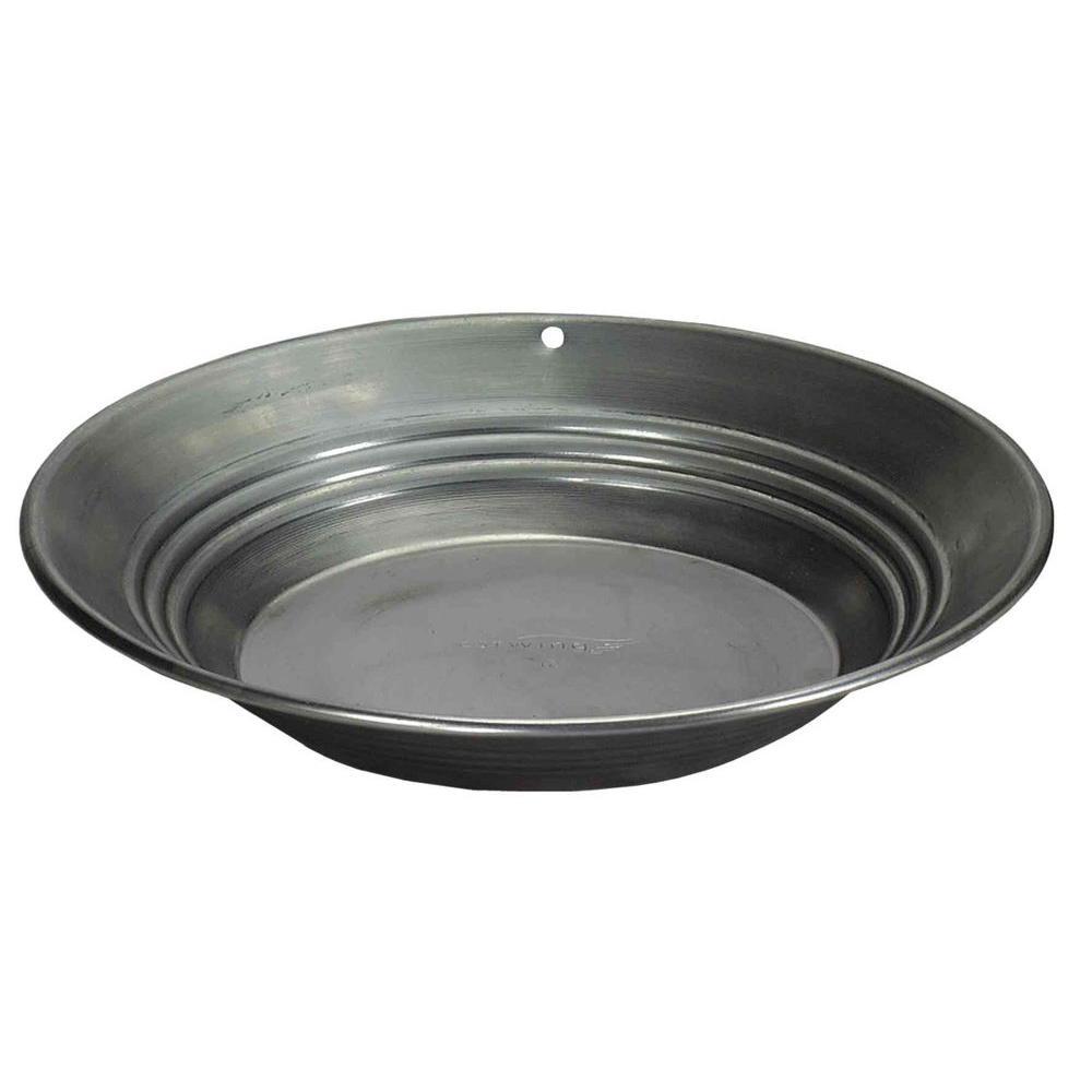 12 oz. 12 in. Steel Gold Pan