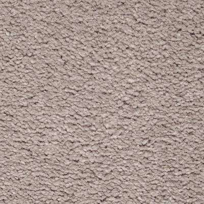 Carpet Sample - Castle I - Color Safari Textured 8 in. x 8 in.