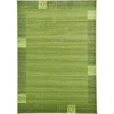 Del Mar Sarah Green 7' 0 x 10' 0 Area Rug