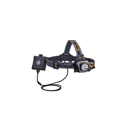HP 900 Lumens AA Battery Powered LED Headlamp in Gray