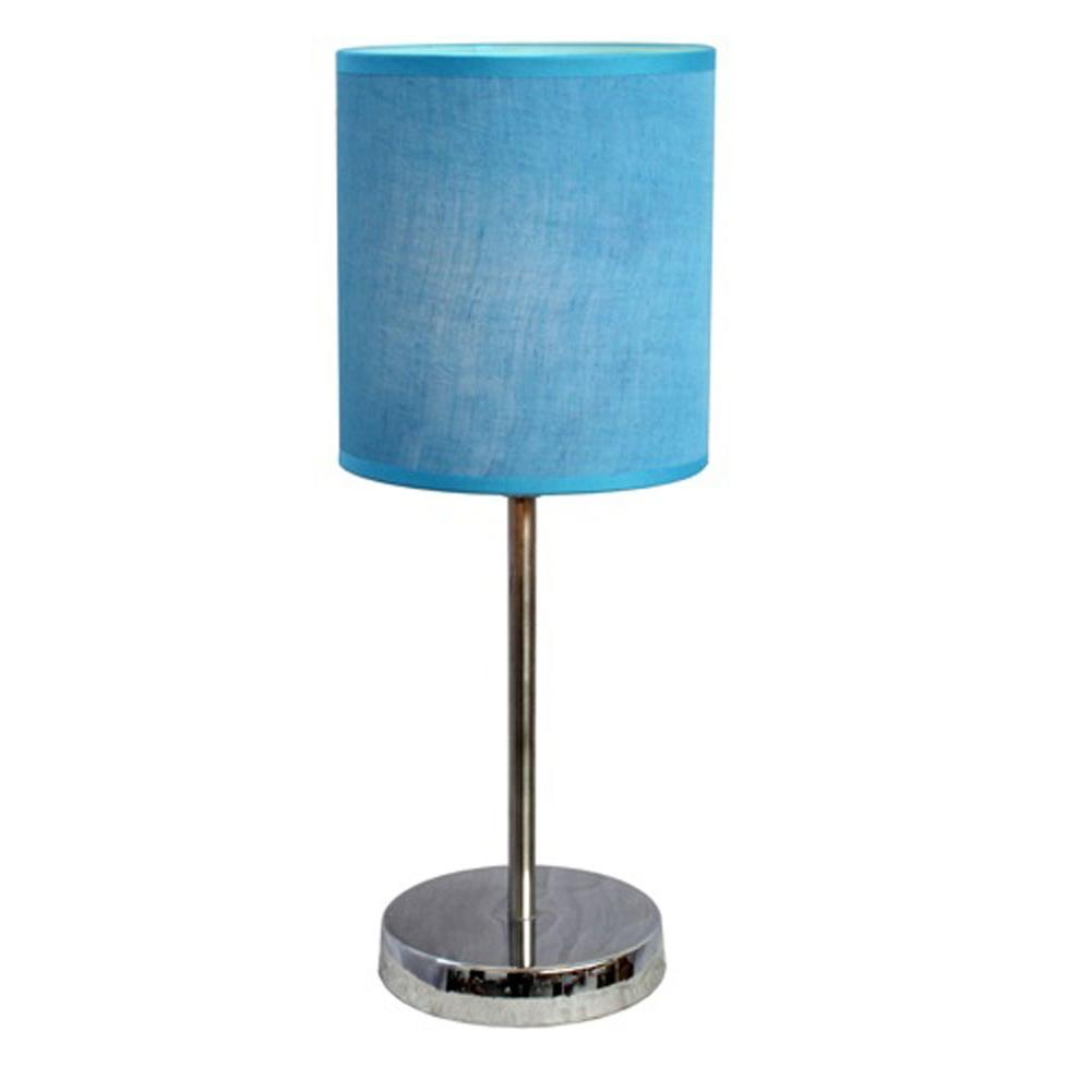 Simple designs in chrome mini basic table lamp with for Home design zymeth aluminum table lamp
