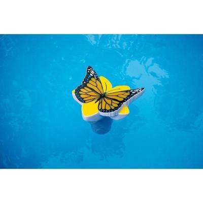 Butterfly Swimming Pool and Spa Chlorine Dispenser in Yellow