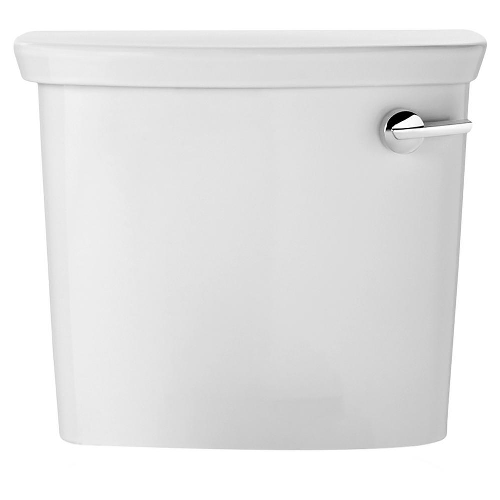 1 GPF Single Flush Toilet Tank Only in White