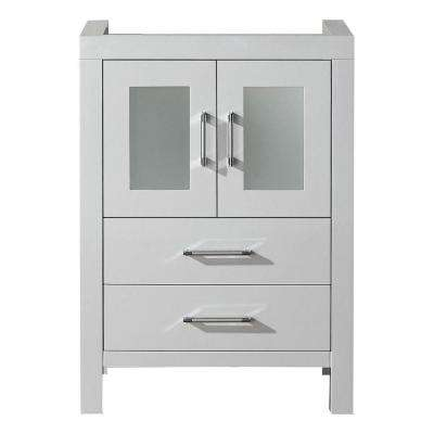 Dior 24 in. W Bath Vanity Cabinet Only in White