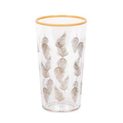 21 oz. Tropical Gold Accents Leaf Jumbo (Set of 6)