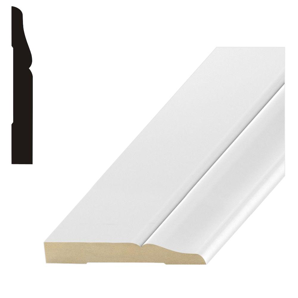 Finished Elegance 3711 1/2 in. x 3-1/2 in. x 96 in. MDF Base Moulding