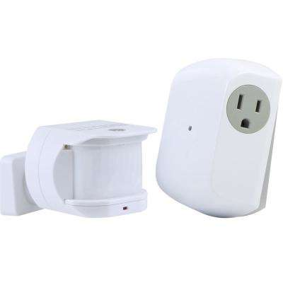 Wireless Motion Sensor Light Control with Grounded Receiver