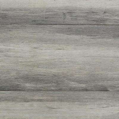 Hand Scraped Strand Woven Chroma Wash 3/8 in. T x 5-1/8 in. W x 72-1/2 in. L Click Bamboo Flooring (25.75 sq. ft.)
