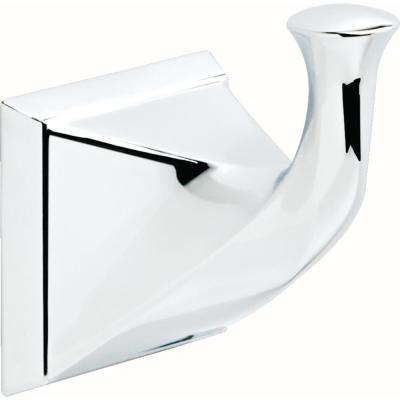 Everly Single Towel Hook in Polished Chrome