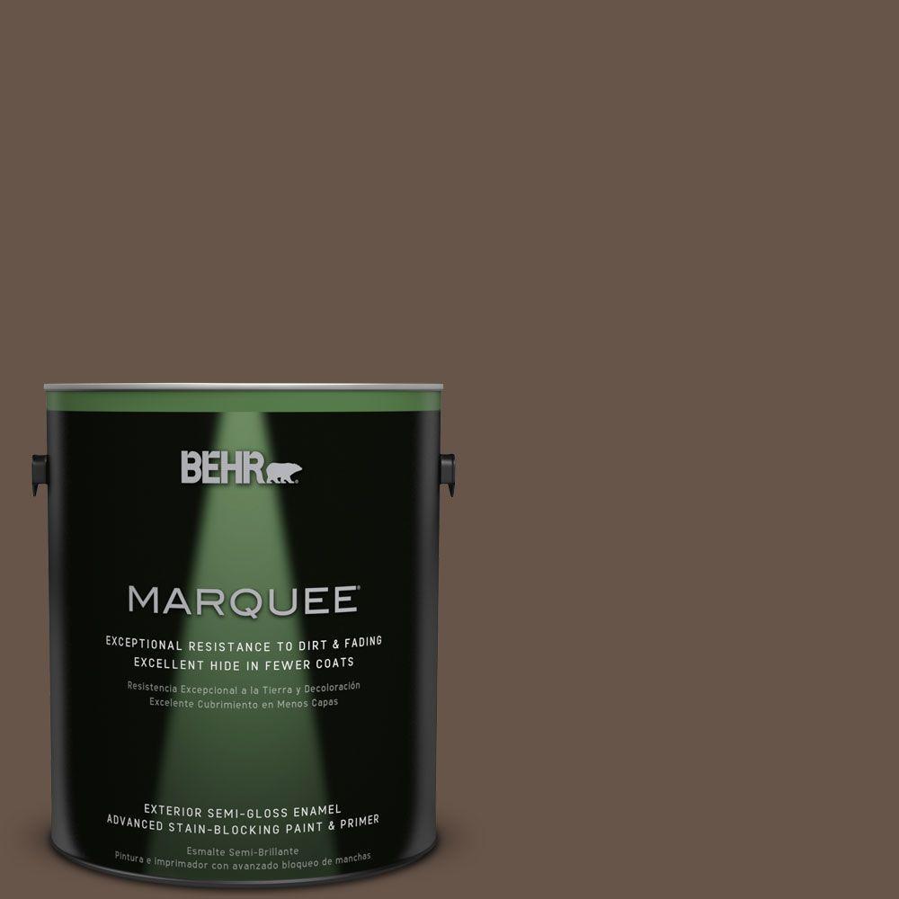 1-gal. #BXC-79 Center Earth Semi-Gloss Enamel Exterior Paint