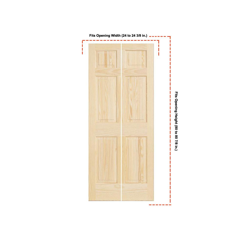 Kimberly Bay 28 In X 80 In White 1 Panel Shaker Solid: Kimberly Bay 30 In. X 80 In. White 6-Panel Solid Core Wood