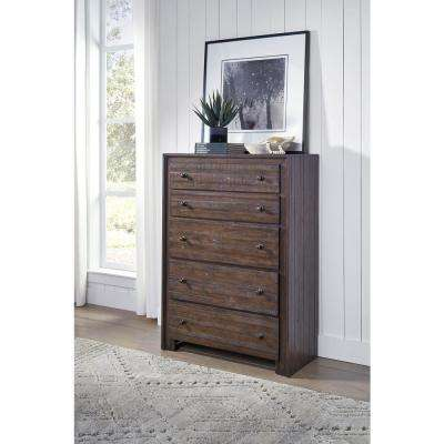 Corwin Distress Mohagany High Chest