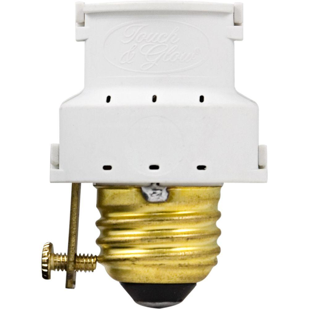 GE 3-Level Dimming Touch Lamp Control