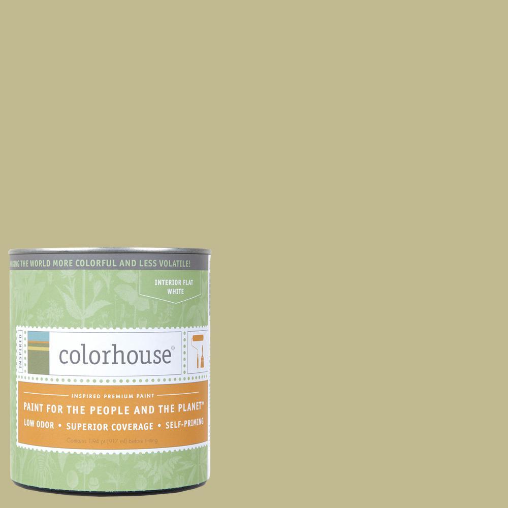 1 qt. Leaf .02 Flat Interior Paint