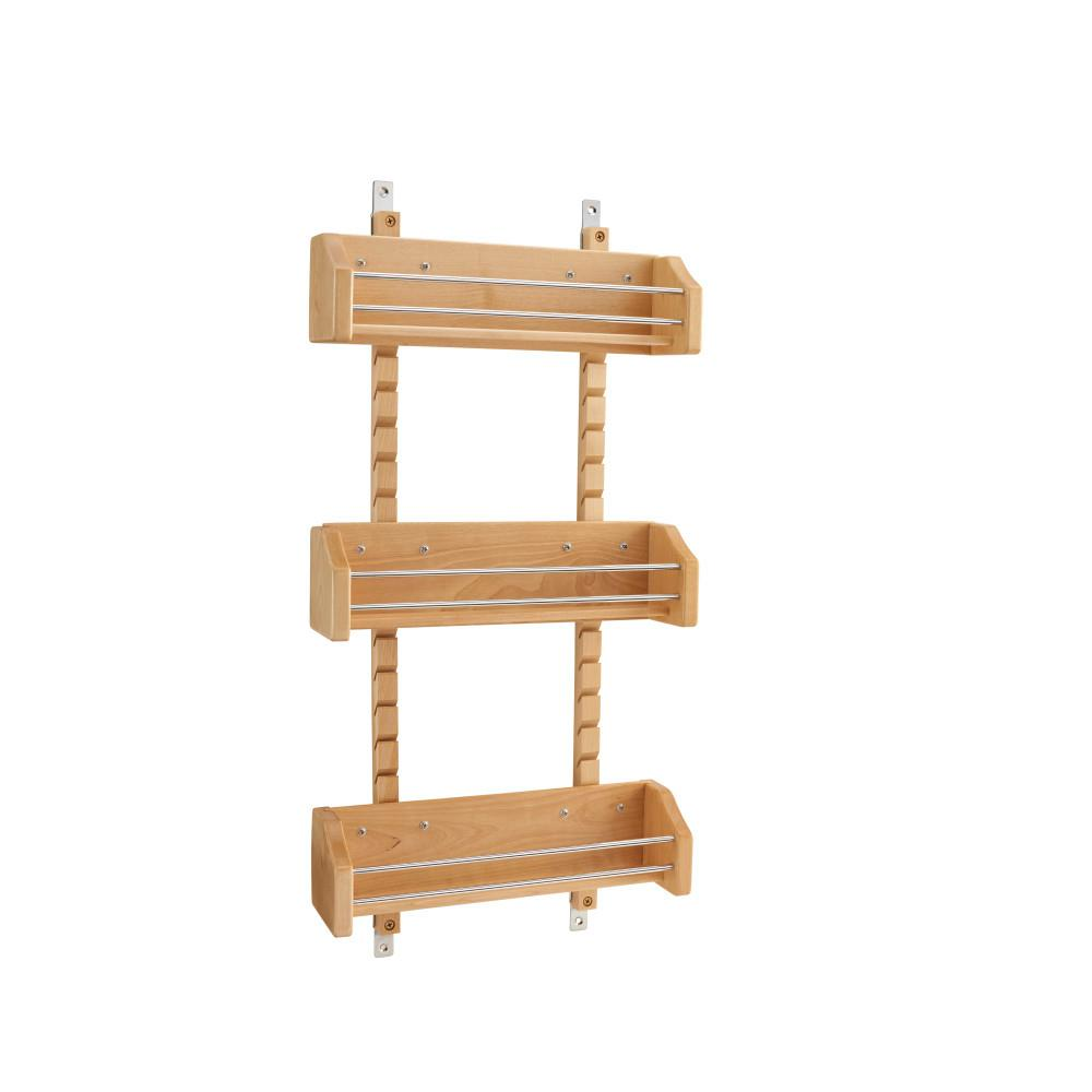 Rev A Shelf 25 In H X 13125 In W X 4 In D Medium Cabinet Door