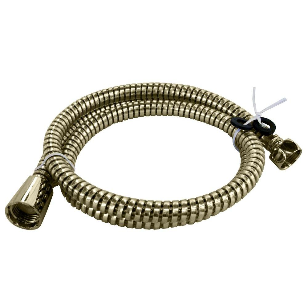 Westbrass 72 in plastic hand shower hose and washers - Hand shower hose ...