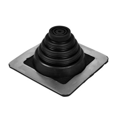 Master Flash 5 in. x 5 in. Vent Pipe Roof Flashing with 1/4 in. - 3/4 in. Adjustable Diameter