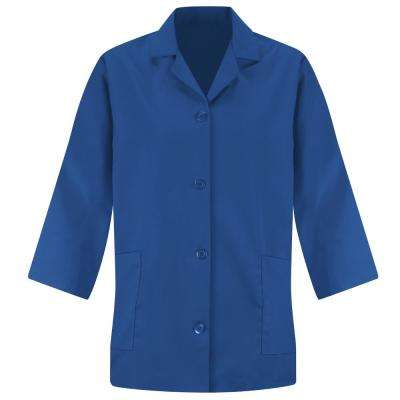 Women's Size M Royal Blue Smock Sleeve