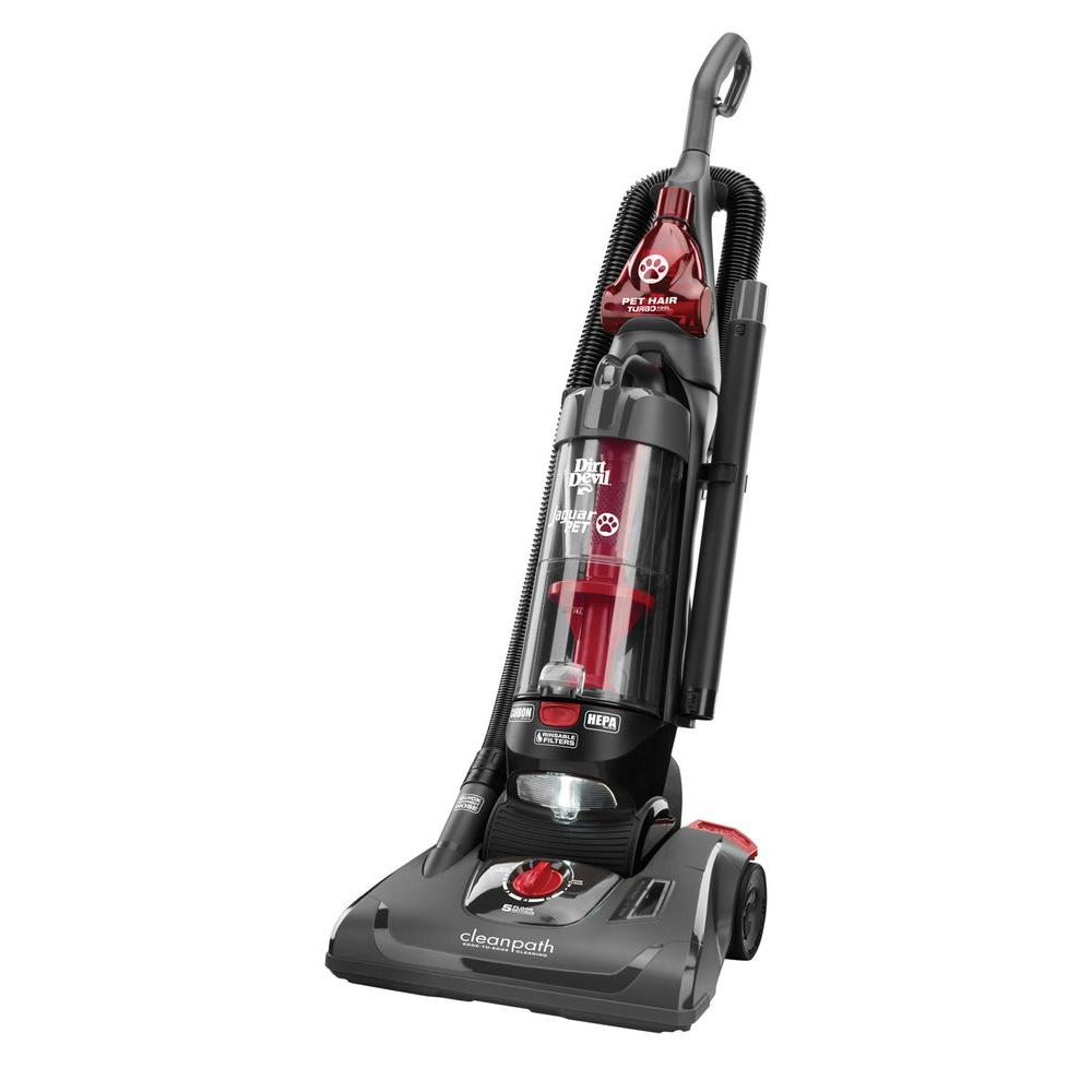 Dirt Devil Jaguar Pet Bagless Upright Vacuum Cleaner