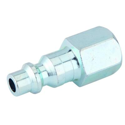 Zinc 1/4 in. x 1/4 in. Male to Female Industrial Plug