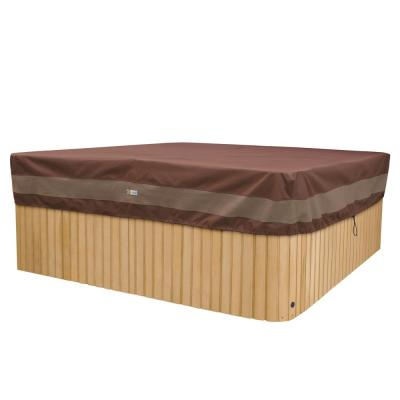 Ultimate 94 in. W x 84 in. D x 14 in. H Rectangular Hot Tub Cover