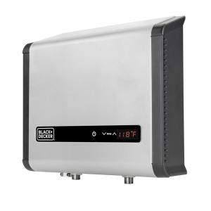 Black + Decker 18 KW 3.73 GPM Residential Electric Tankless Water Heater Ideal for 1 Bedroom Home, Up to 3 Simultaneous Applications