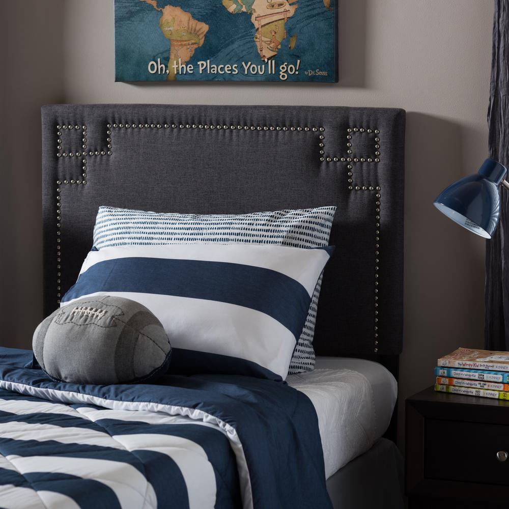 Geneva Gray Twin Headboard. Gray   Beds   Headboards   Bedroom Furniture   The Home Depot