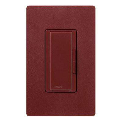 Maestro 600-Watt Multi-Location Accessory Dimmer - Merlot