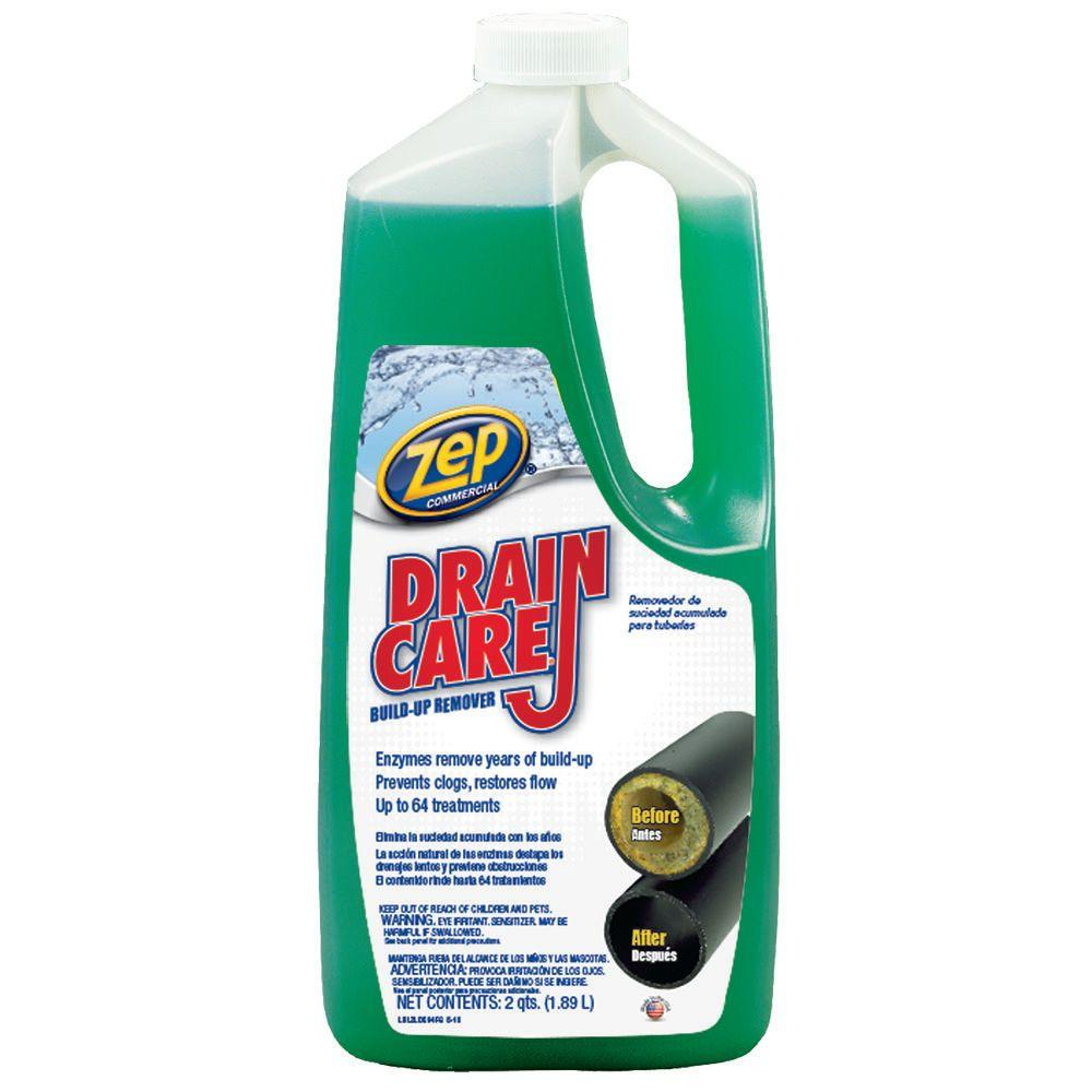 Zep 64 Oz Drain Build Up Remover Case Of 8 Zldc648