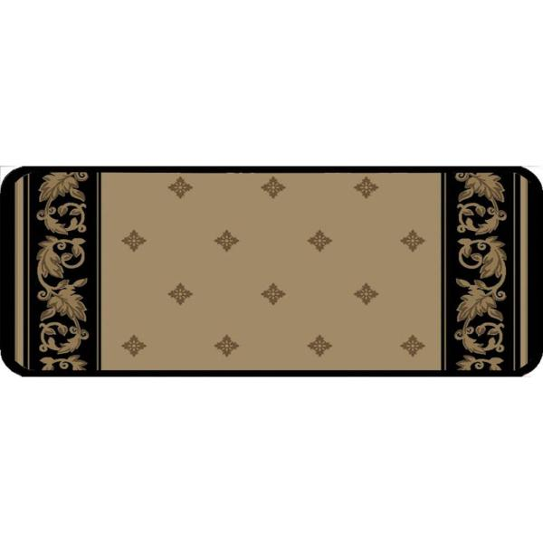 Windham Ebony 9 in. x 26 in. Stair Tread Cover