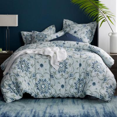 Sussex Medallion Wrinkle-Free Sateen Comforter