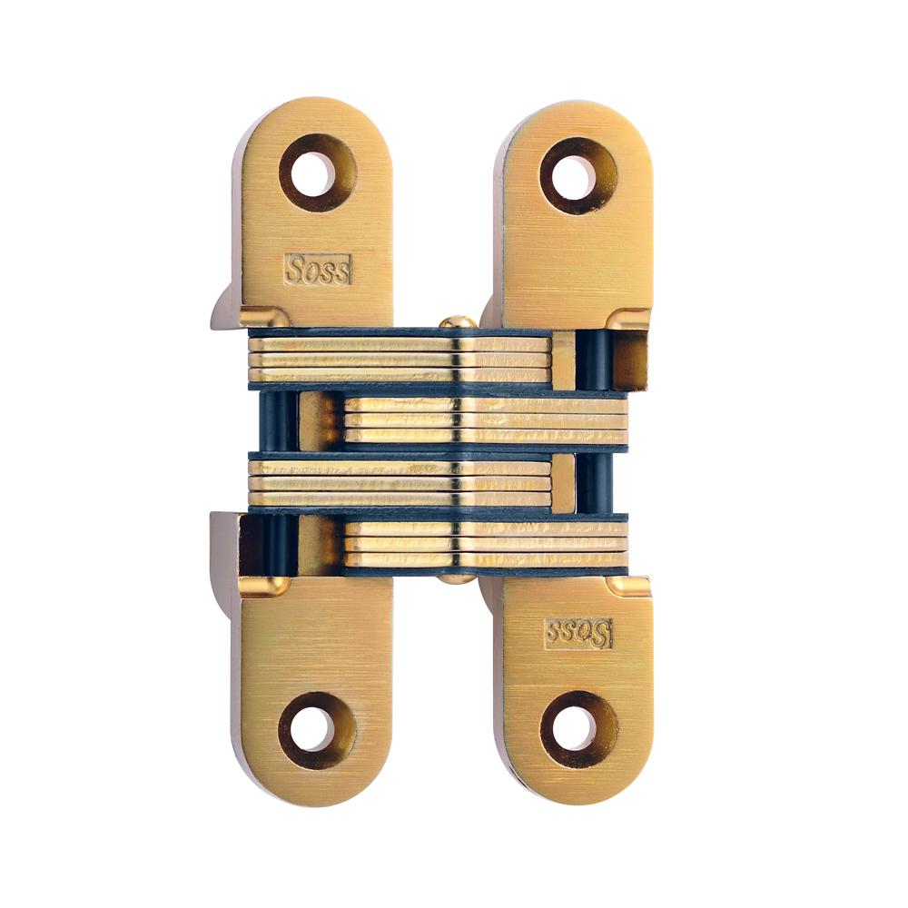 Bon Satin Brass Invisible Hinge