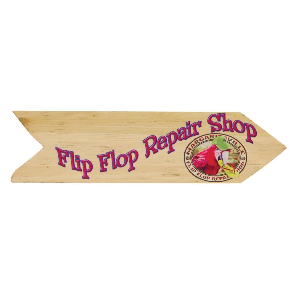 Flip Flop Repair Shop Wall Art Sign