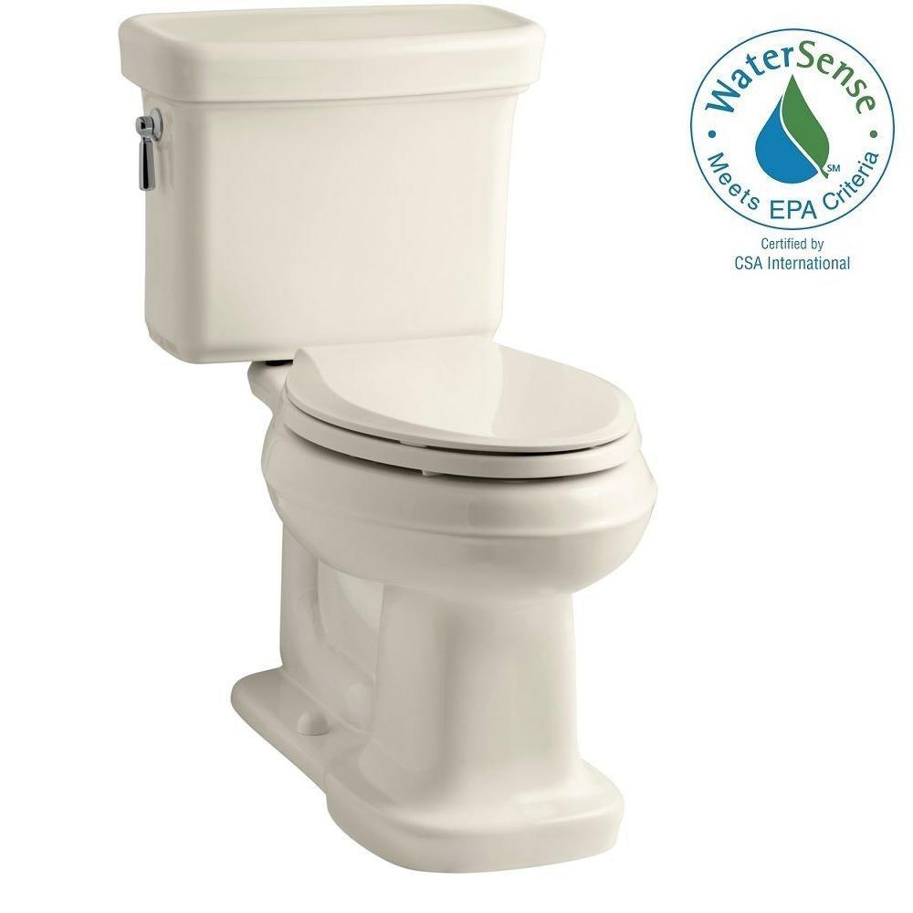 Bancroft 2-Piece 1.28 GPF Single Flush Elongated Toilet with AquaPiston Flush