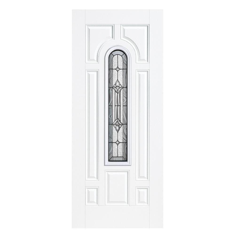 36 in. x 80 in. Providence Center Arch Left Hand Outswing