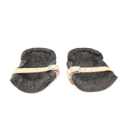 1 in. Thick Felt Leather Knee Pads