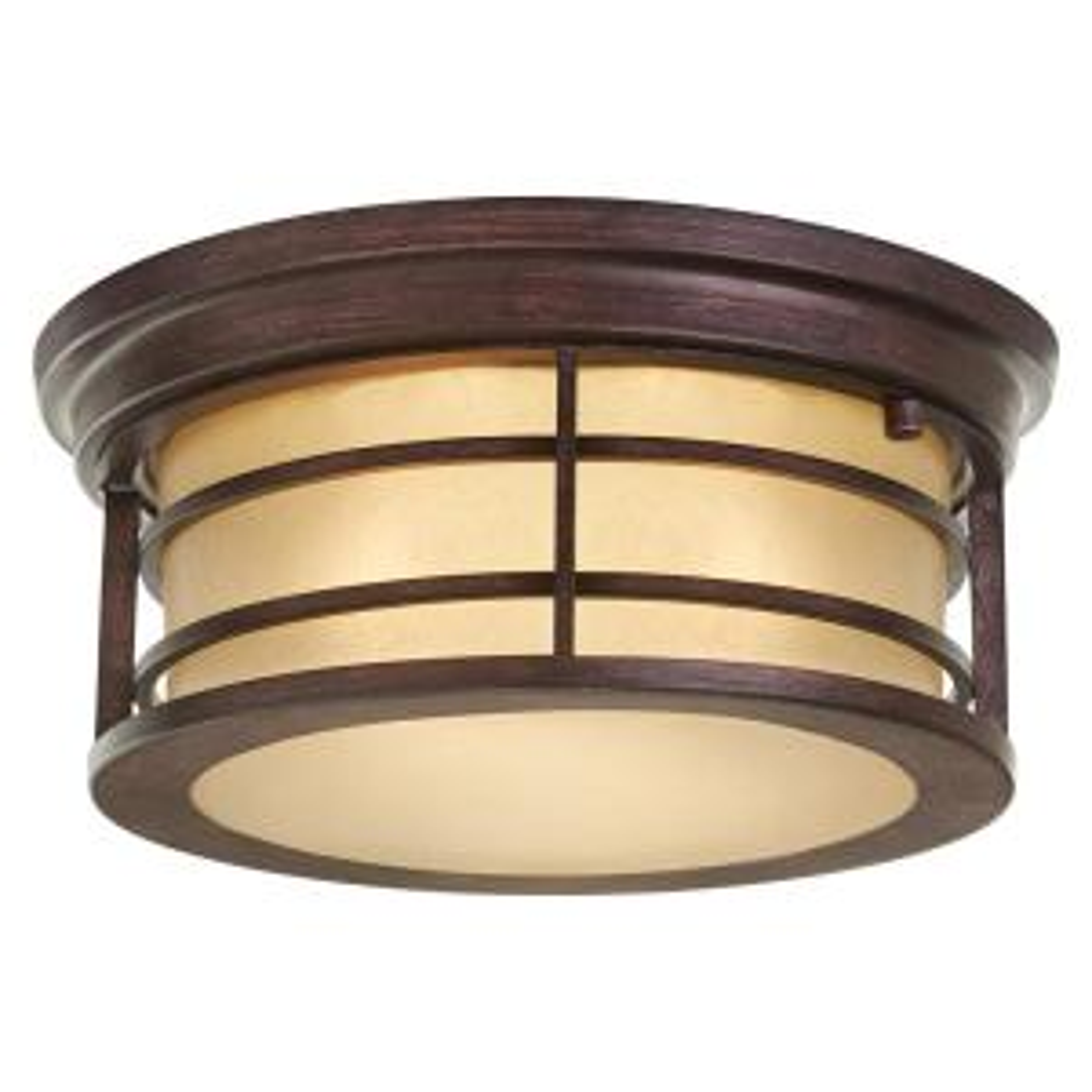 Home Decorators Collection 2 Light Bronze Outdoor Ceiling